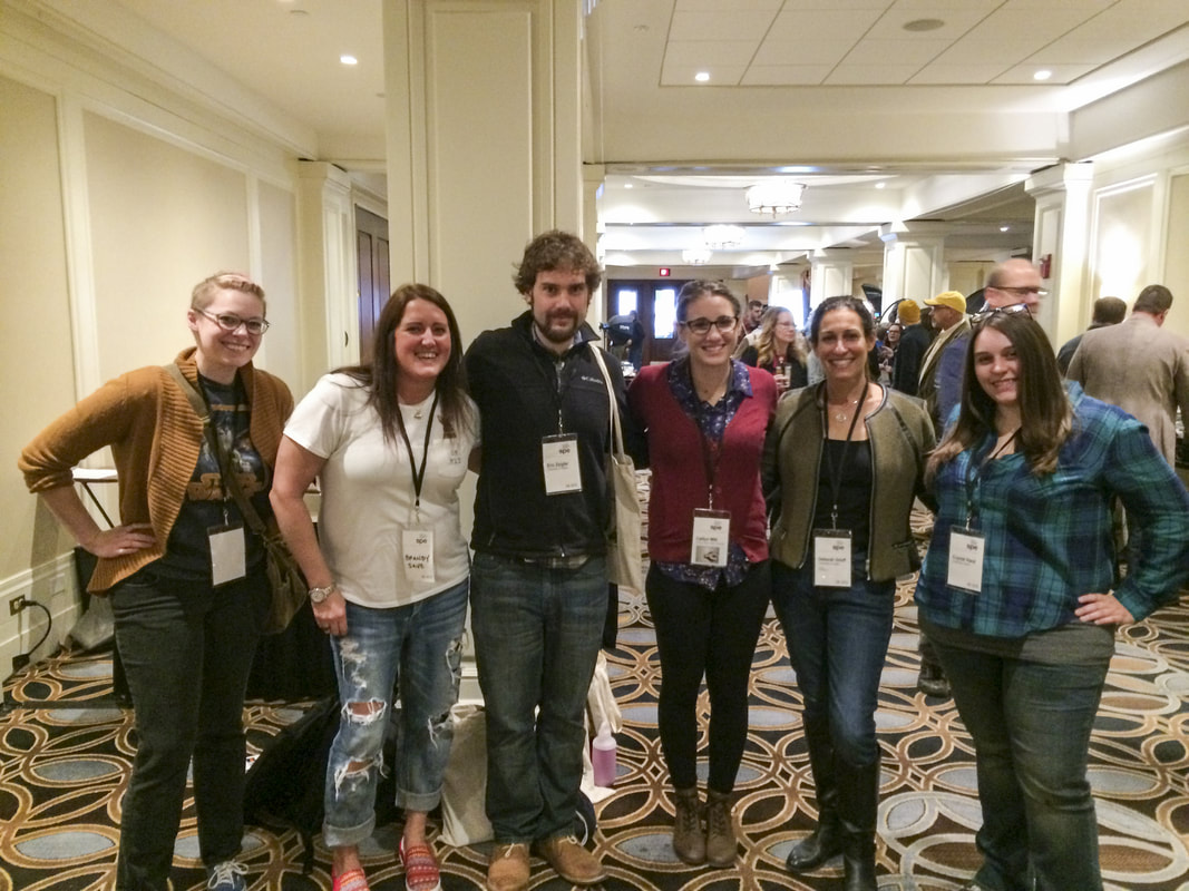 Students and faculty at SPE Conference
